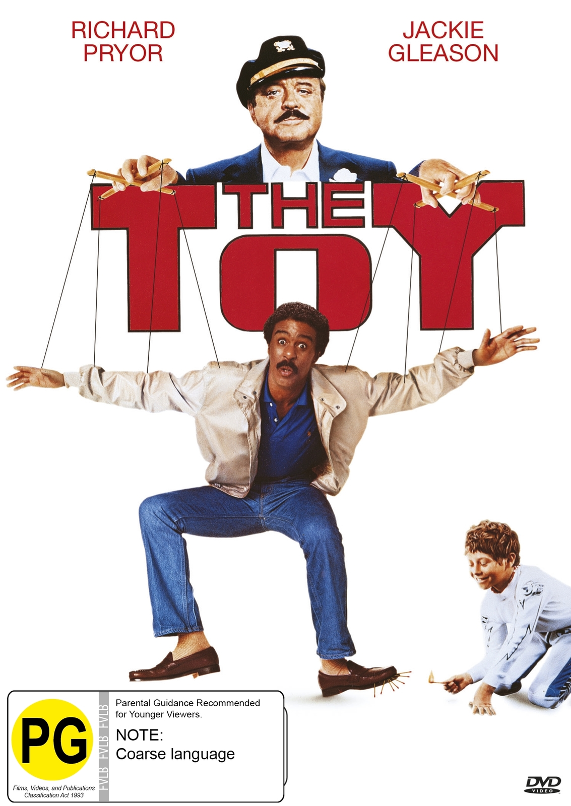 The Toy on DVD image