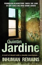 Inhuman Remains by Quintin Jardine image