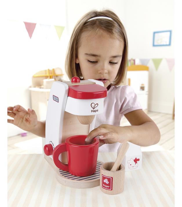 Hape: Coffee Maker Play Set