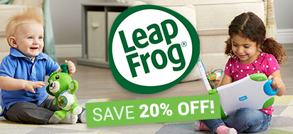20% off LeapFrog!