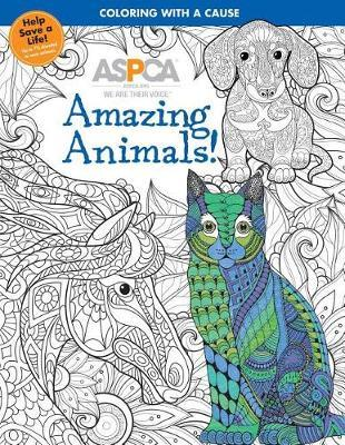 ASPCA Adult Coloring for Pet Lovers: Amazing Animals! image