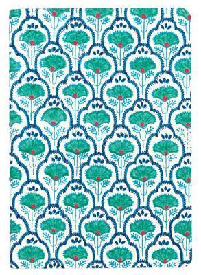 Journal: Handmade LG Embroidered - Petal & Vine
