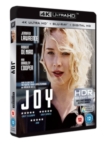 Joy on UHD Blu-ray