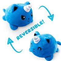 TeeTurtle: Reversible Mini Plush - Kittencorn (Blue)