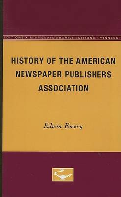 History of the American Newspaper Publishers Association image