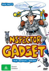 Inspector Gadget - The Original Series: Box Set 1 (3 Disc Box Set) on DVD