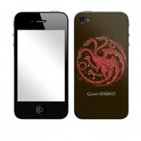 Game of Thrones Skin for iPhone - Targaryen Distressed