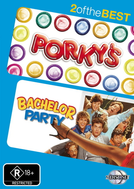 Porky's / Bachelor Party - 2 Of The Best (2 Disc Set) on DVD