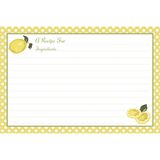 Jessie Steele 3 Ring Recipe Book Binder - Summer Lemons
