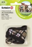 Schleich: Blanket + Headstall (Brown)