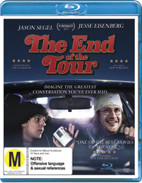 End Of The Tour on Blu-ray, UV