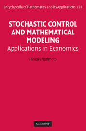 Stochastic Control and Mathematical Modeling by Hiroaki Morimoto image