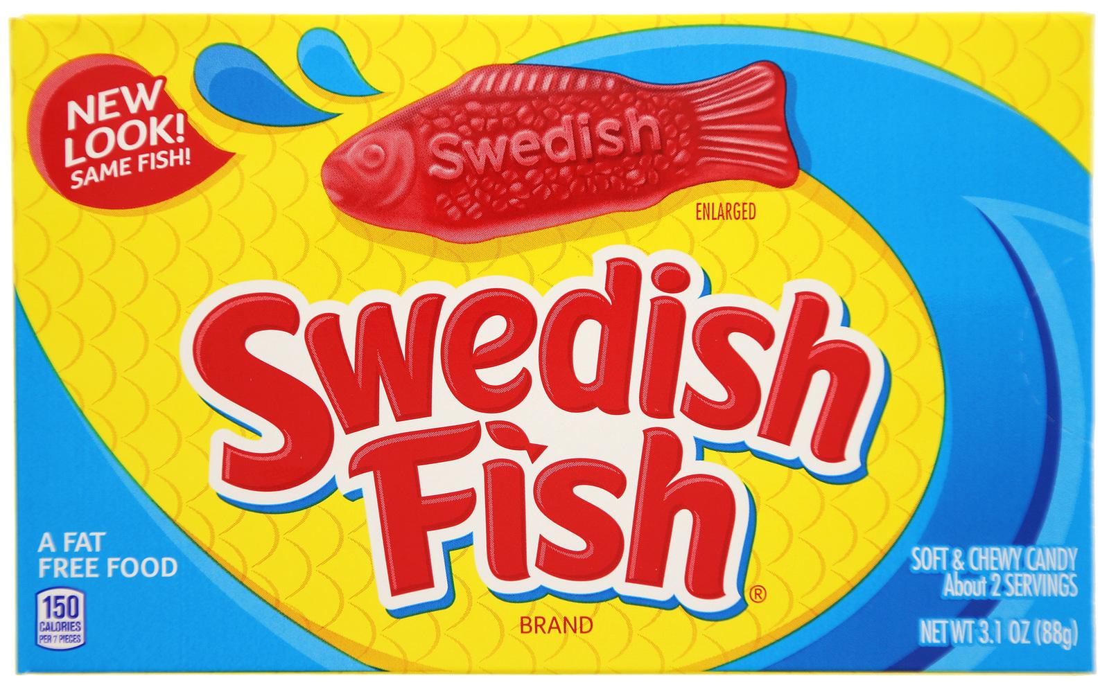 Swedish Fish Red Theater Box (88gm) image
