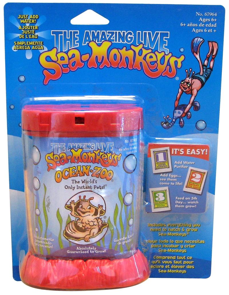 Sea Monkeys Ocean Zoo Toy At Mighty Ape Nz