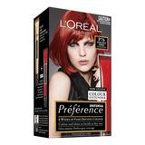 L'Oreal Preference Glam Hair Colour #76 Pure Spice Power