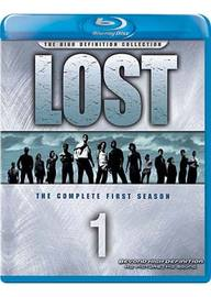 Lost - The Complete 1st Season (The High Definition Collection) (7 Disc Set) on Blu-ray