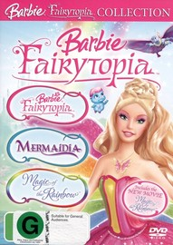 Barbie - Fairytopia Collection (Fairytopia / Mermaidia / Magic Of The Rainbow) (3 Disc Set) on DVD image