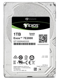 1TB Seagate: Exos 7E2000 [2.5 HDD 4KN, 12 GB/s SAS, 7200RPM] - Enterprise Hard Drive