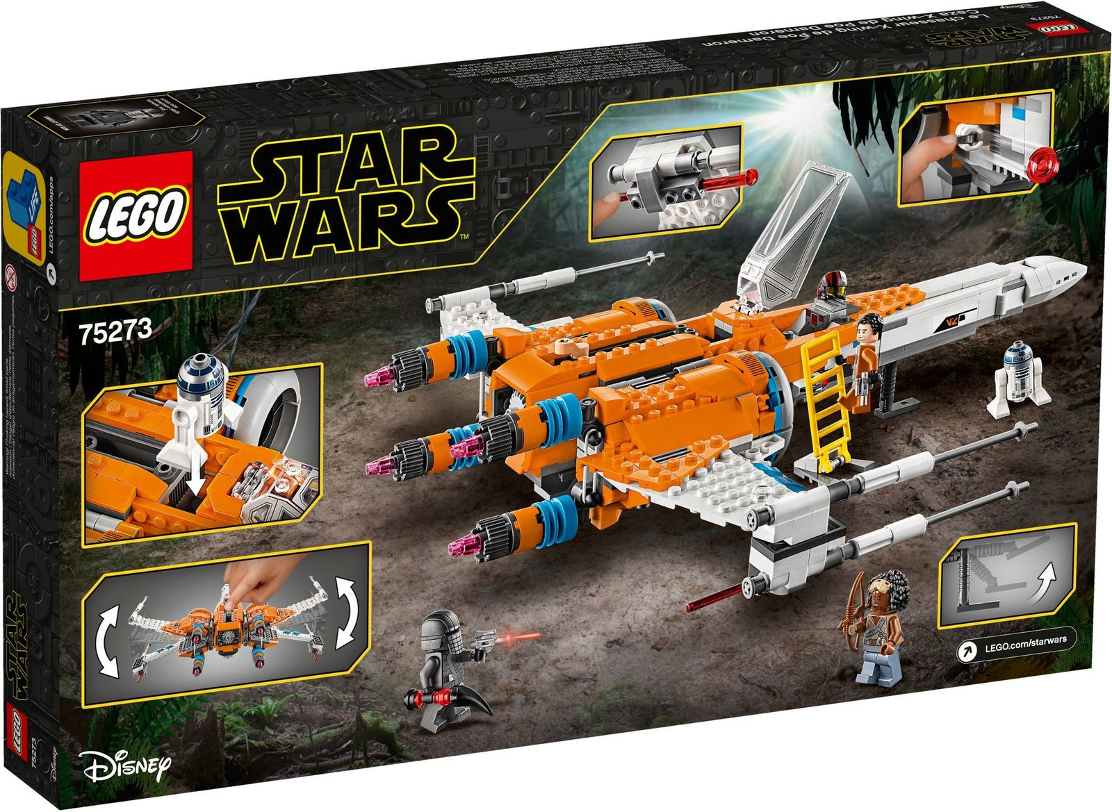 LEGO: Star Wars - Poe Dameron's X-wing Fighter image