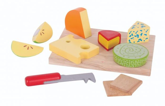 Bigjigs: Cheese Board - Wooden Playset