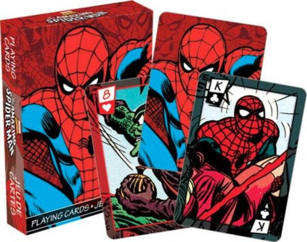 Marvel – Spiderman Comics Playing Cards
