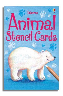 Animal Stencil Cards image