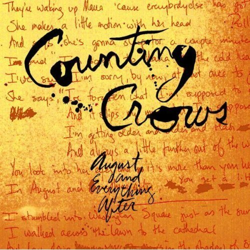 August And Everything After by Counting Crows image