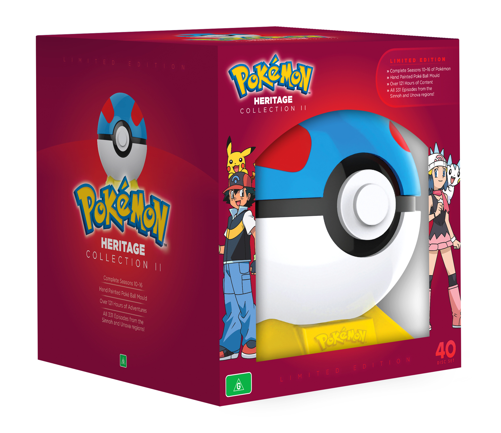 Pokemon: The Heritage Collection II on DVD image