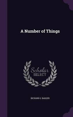A Number of Things image