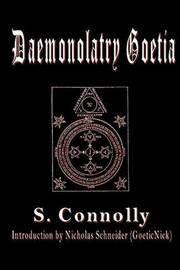 Daemonolatry Goetia by S Connolly