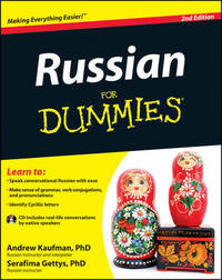 Russian For Dummies by Andrew Kaufman, Ph.D.