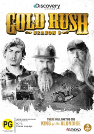 Gold Rush - Season 6 on DVD
