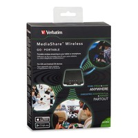 Verbatim MediaShare Wireless Portable Streaming Device image