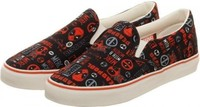 Marvel Deadpool Unisex Deck Shoes (Size 8)