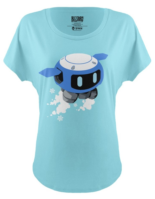 Overwatch: Mei Icon - Women's Dolman Shirt (Medium)