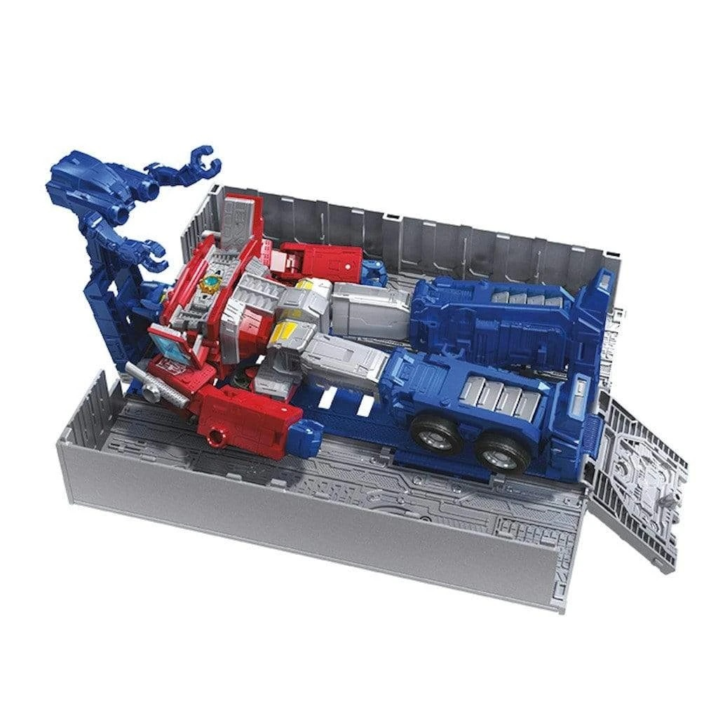 Transformers Generations: War for Cybertron - Earthrise Leader Optimus Prime (WFC-E11) image