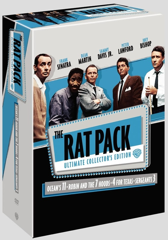 The Rat Pack - Ultimate Collector's Edition (3 Disc Box Set) on DVD