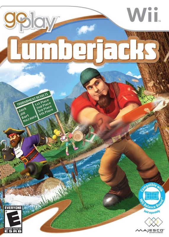 Go Play Lumberjacks for Nintendo Wii