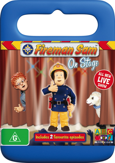 Fireman Sam - On Stage on DVD image