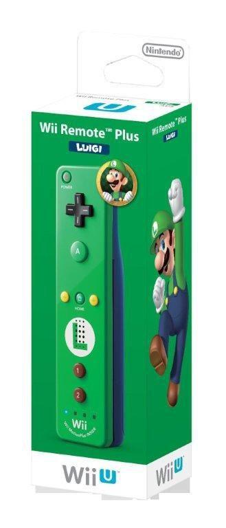 Nintendo Wii U Remote Plus - Luigi (Green/Blue) for Nintendo Wii U