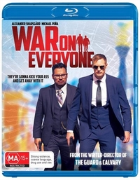 War on Everyone on Blu-ray