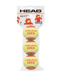 Head T.I.P 1 Pressureless Ball Red (3 Pack)