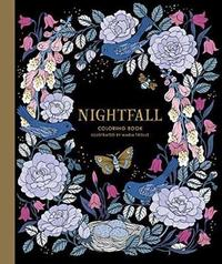 Nightfall Coloring Book by Maria Trolle