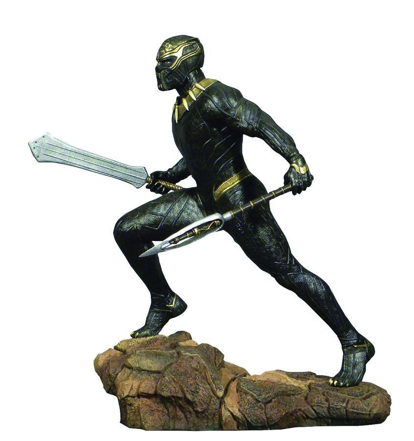 """Marvel Gallery: Erik Killmonger - 10"""" Statue image"""