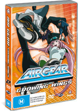 Air Gear - Vol. 2: Growing Wings on DVD