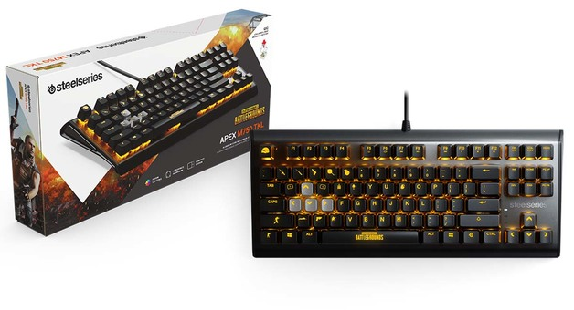 9d2daaee978 Steelseries Apex M750 TKL PUBG Edition (US) | PC | On Sale Now | at Mighty  Ape NZ