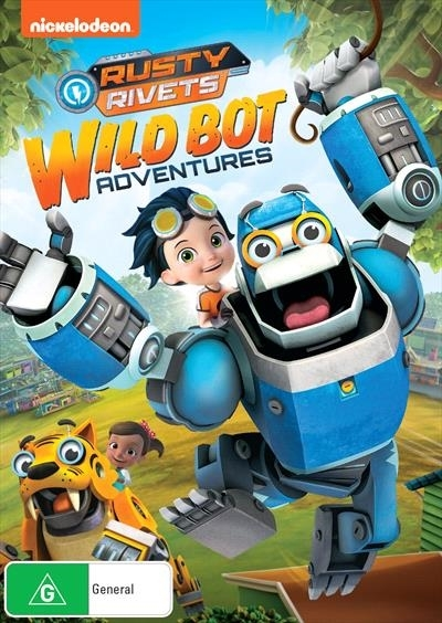 Rusty Rivets: Animal Bot Adventures on DVD