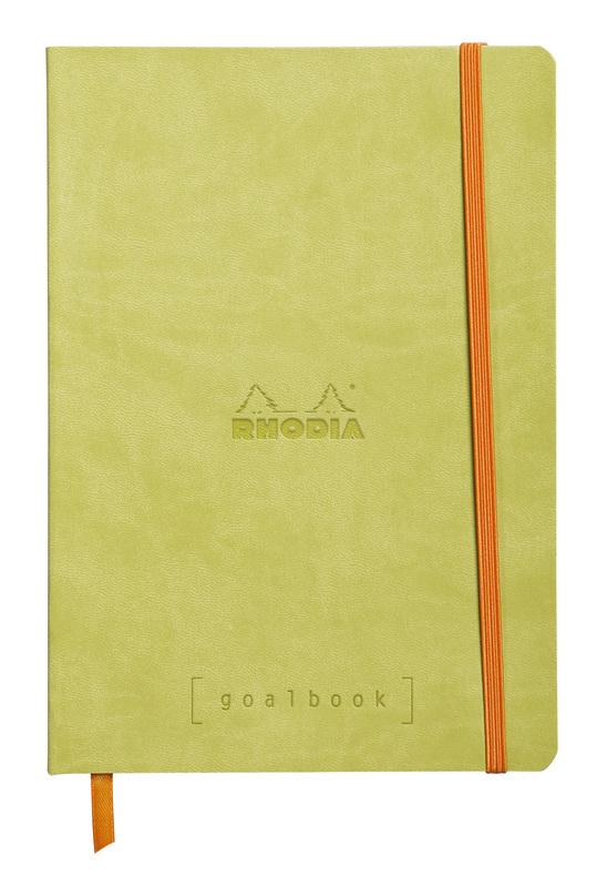 Rhodiarama A5 Goalbook Dot Grid - Green