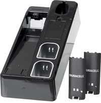 Duracell Wii Charging Stand Black for Nintendo Wii image