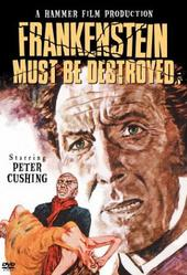 Frankenstein Must Be Destroyed on DVD